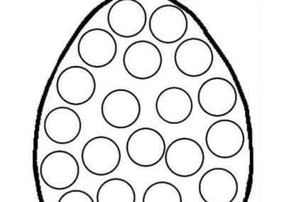 jajo do wypełnienia plasteliną